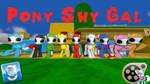 (DL) Pony Shy Gal by Out-Buck-Pony