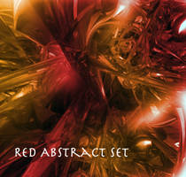 Red Abstract Brush by Shin99