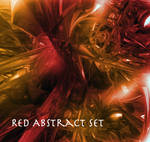 Red Abstract Brush