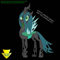 Chrysalis Says What (Flash) by Imaflashdemon