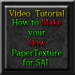 Video tutorial PaperTex  SAI by excaliboob