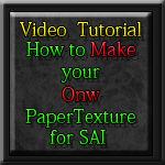 Video tutorial PaperTex  SAI