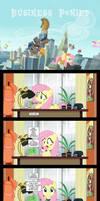 Business Ponies 3 - Fluttershy's Inbox