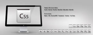 Adobe CS5 Icons White