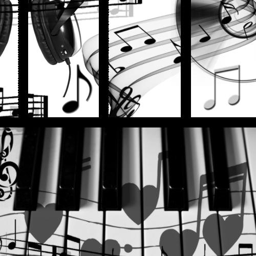 Photoshop Brushes - Music