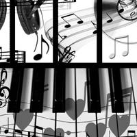 Photoshop Brushes - Music