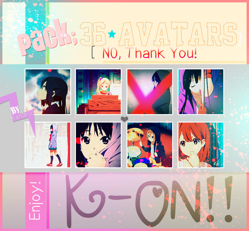 Pack Avatars: No, Thank You by Kandric