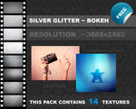 Silver Glitter Bokeh PACK
