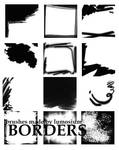 Border brushes