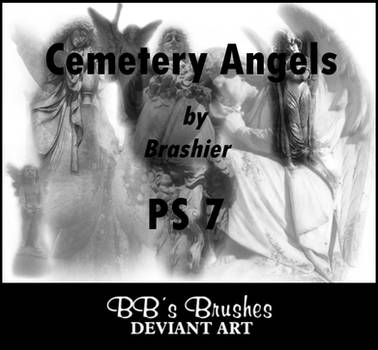 Cemetery Angels by BBs-Brushes