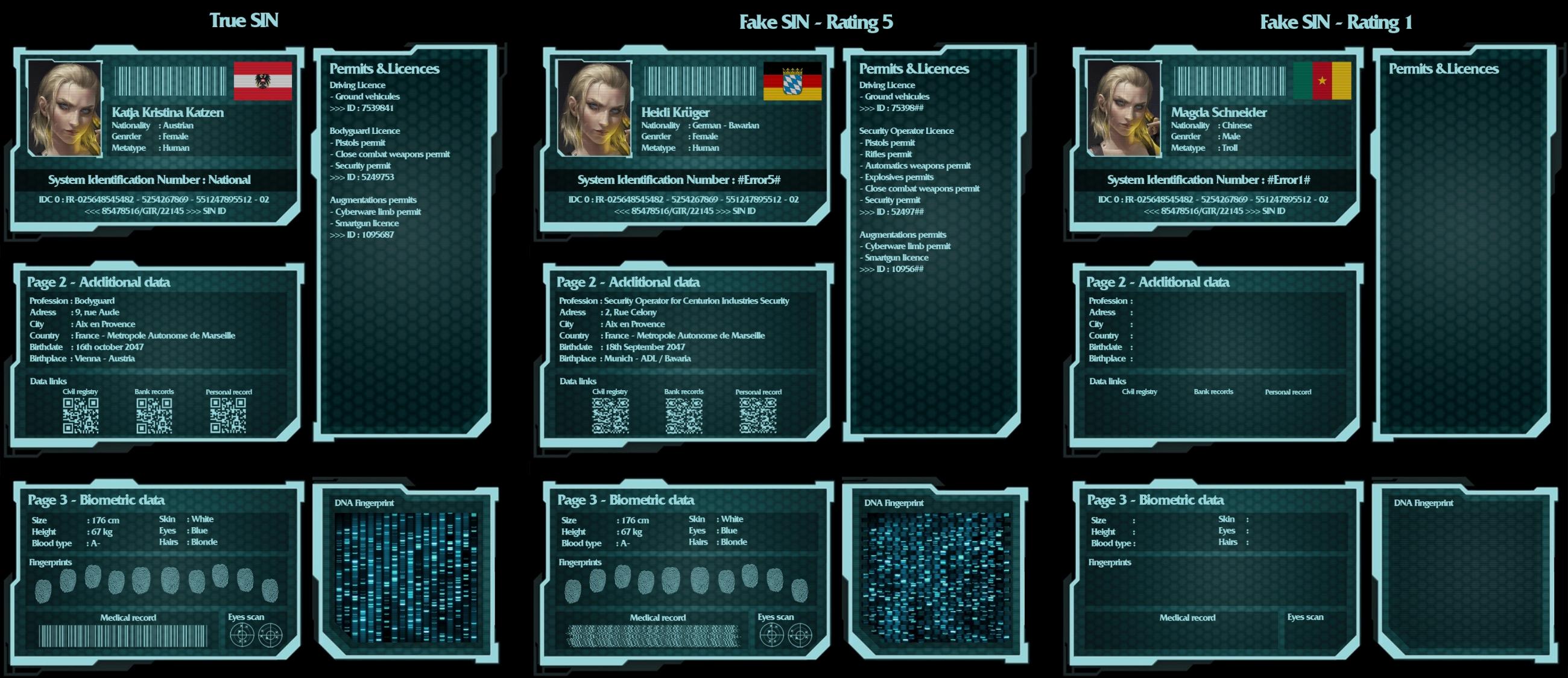 Shadowrun : Sin ressource by Nemhainn