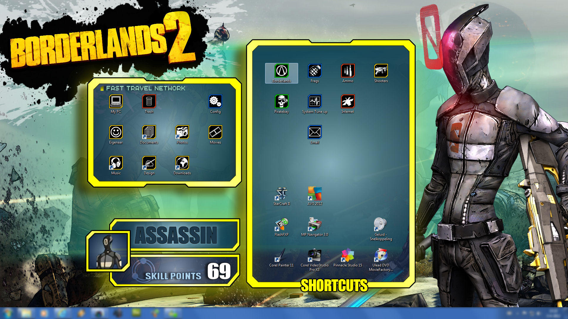 Borderlands 2 wallpapers pack zer0 ui by mentalmars on deviantart borderlands 2 wallpapers pack zer0 ui by mentalmars voltagebd Image collections