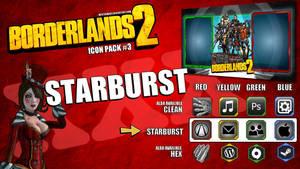 Borderlands2 Icon Pack3 - STARBURST