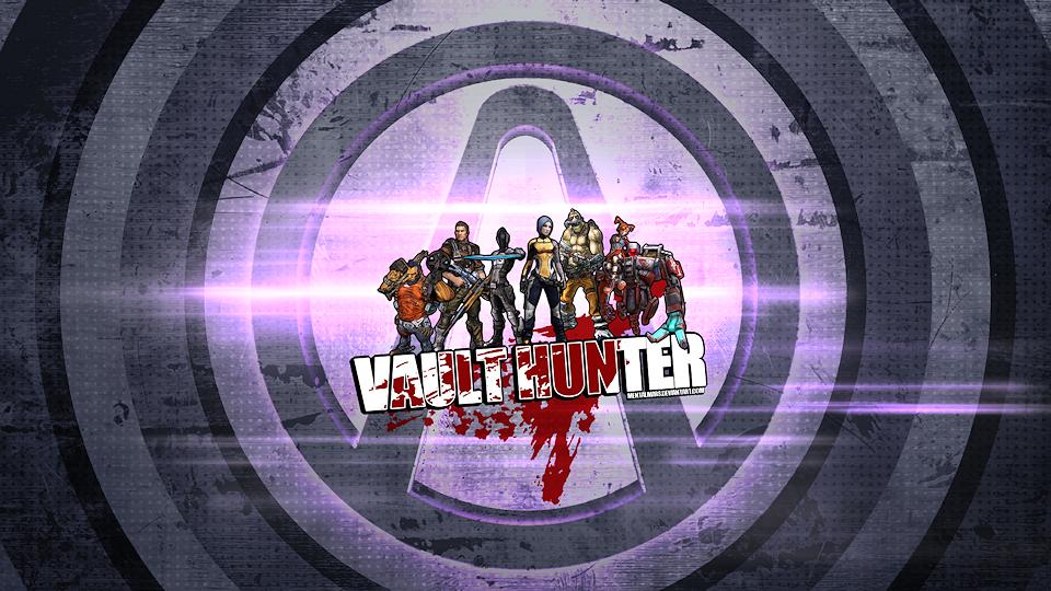 Borderlands 2 Wallpaper - Vault Hunter by mentalmars