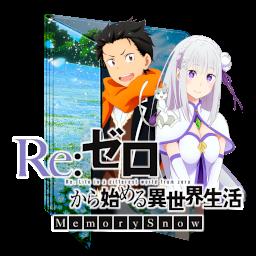 Re Zero Memory Snow Icon Folder By Assorted24 On Deviantart