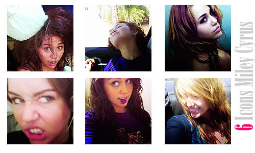 Miley Cyrus Icons.
