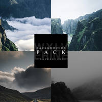 #1 BACKGROUNDS PACK by wxlverine