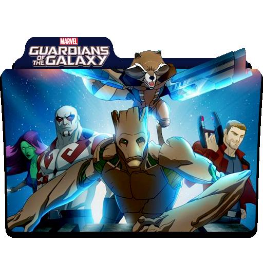 Guardians Of The Galaxy Tv Series Folder By Hey Rexjohn On Deviantart