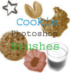 Cookie Photoshop Brushes by HibiscusLily