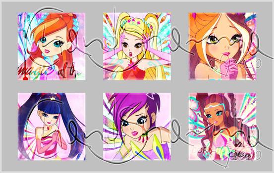 Enchantix S8 avatars