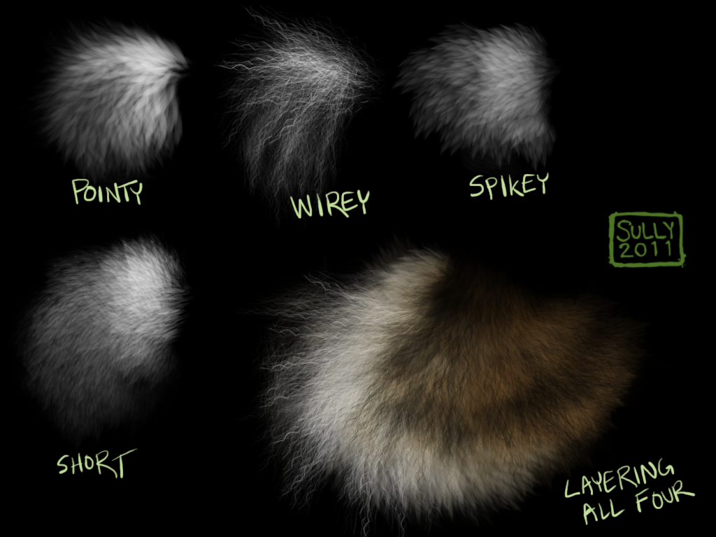 Fur Brush Pack