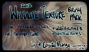 Wildlife Texture Brushes