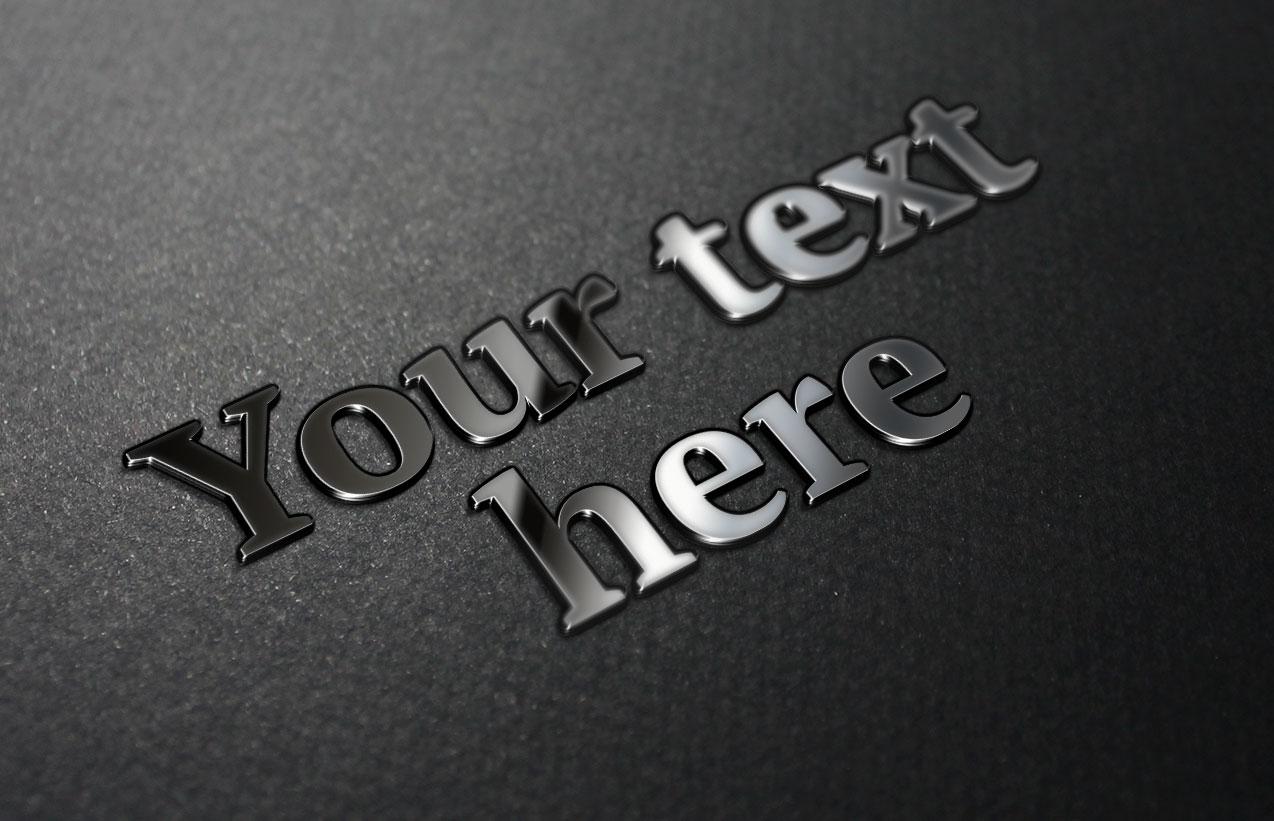 3d text mock up (smart object) by assadbabil on DeviantArt
