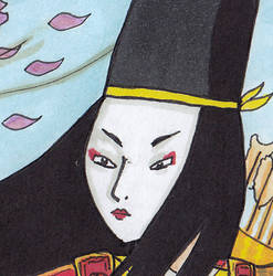 Tomoe Gozen - the Woman Samurai Warrior by Orkideh84