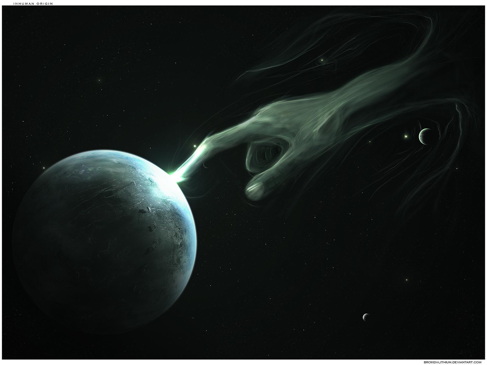 inhuman origin by Broken-Lithium
