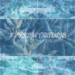 5 Frozen Textures by ImTsundereBaka
