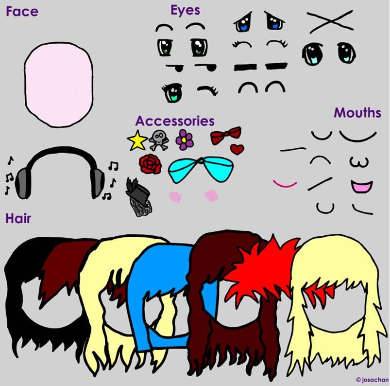 Kawaii face maker by josachan on DeviantArt