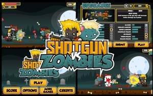 Shotgun vs Zombies by pzUH