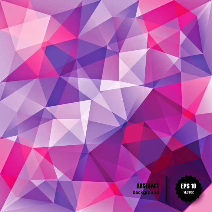 triangle colorful triangles art - photo #14