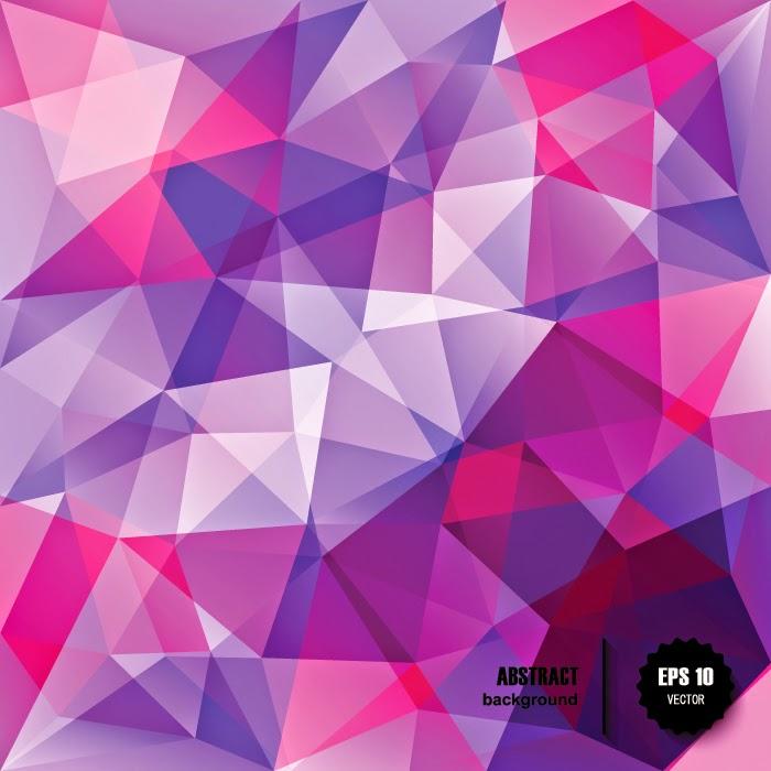 triangle colorful triangles art - photo #14
