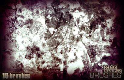 Heavy Grunge Brushset by e-klipse