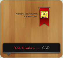 Red Ribbon .... CAD by dimage