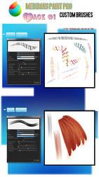 Medibang Custom Brushes_pack 1 by euphoriadOll