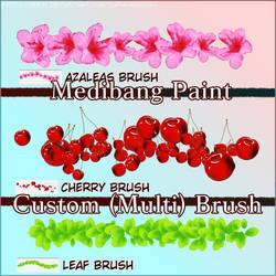 Medibang Paint Custom (Multi) Brush Pack by euphoriadOll