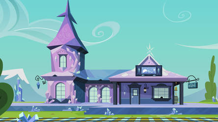 Crystal Empire Train Station by CloudshadeZer0