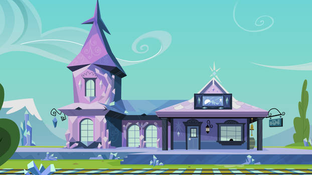 Crystal Empire Train Station