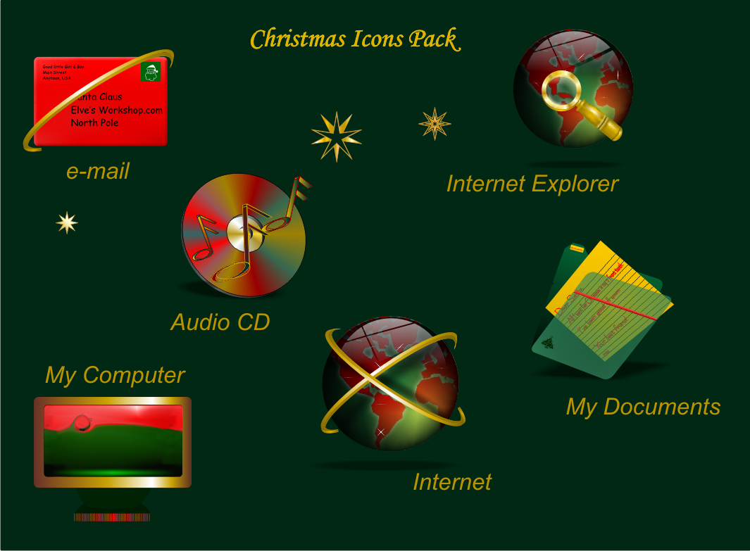 Christmas Icon Pack by 47songs