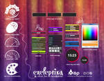 Exeleptika  - skin for Rainmeter