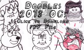 Doodles 2013 OCs Edition by LaptopGeek
