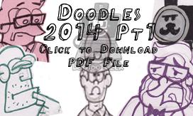 Doodles 2014 Pt1 by LaptopGeek