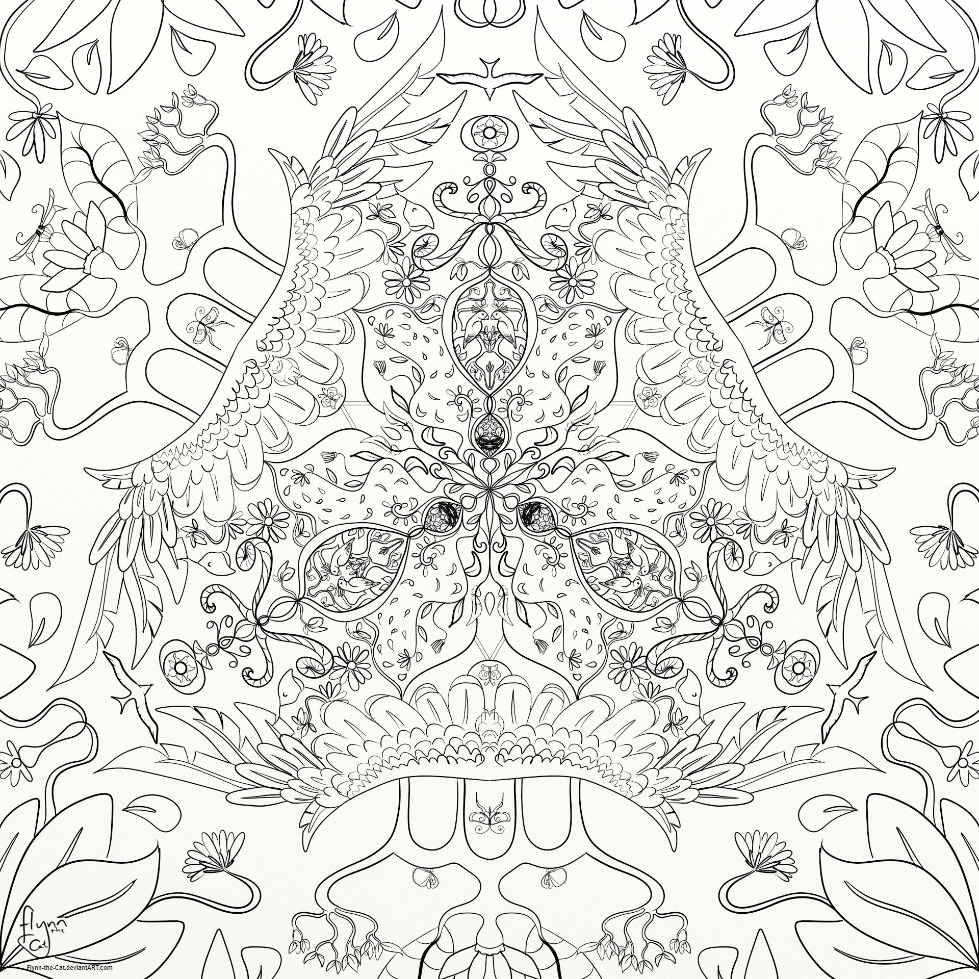 s line of symmetry coloring pages - photo #34