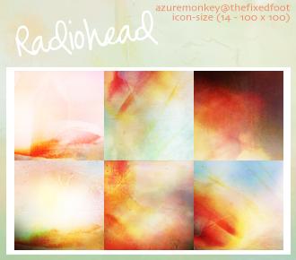 radiohead by azuremonkey
