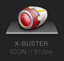 X-Buster Icon 512px PNG - Megaman X - Rockman X