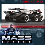 Mass Effect Mako model by ThunderChildFTC