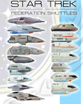 Star Trek 1:200 scale shuttles by ThunderChildFTC