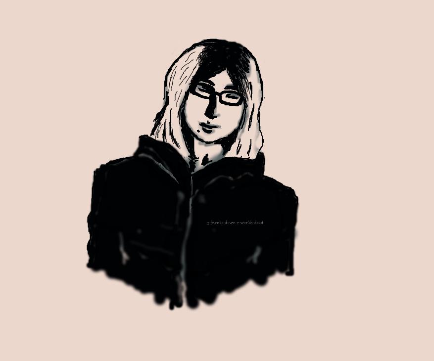 Self portrait by iluvmochipoland